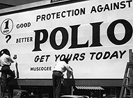 first investigation of an epidemic of polio