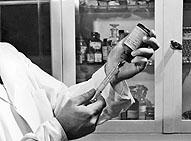 Dr. Robert Kissling developed the fluorescent antibody test for rabies