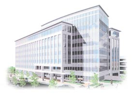 graphic of Hyattsville building