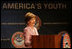 Mrs. Laura Bush delivers remarks at the Helping America's Youth Fourth Regional Conference in St. Paul, Minn., Friday, August 3, 2007.
