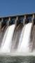Hydroelectric dam.