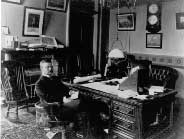 Photo of Thedore Roosevelt when he served as Assistant Secretary of the Navy during the Spanish-American War (Library of Congress)