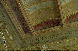 Photo of the Ceiling in the office of the Secretary of the Navy (Walter Smalling, Jr.)