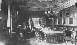 Photo of the Office of the secretary of War (Library of Congress)