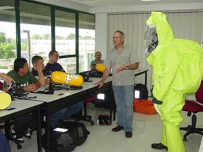 hazardous waste worker class