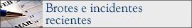 Brotes e incidentes recientes