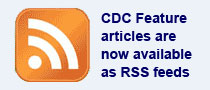 CDC Feature articles are now available as RSS feeds.