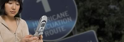 CDC Mobile Website with Hurricane Recovery Information