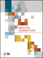 2008 Health Marketing Report cover