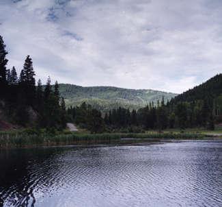 A scenic shot near Libby, Montana