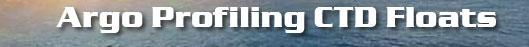Argo Profiling CTD Floats
