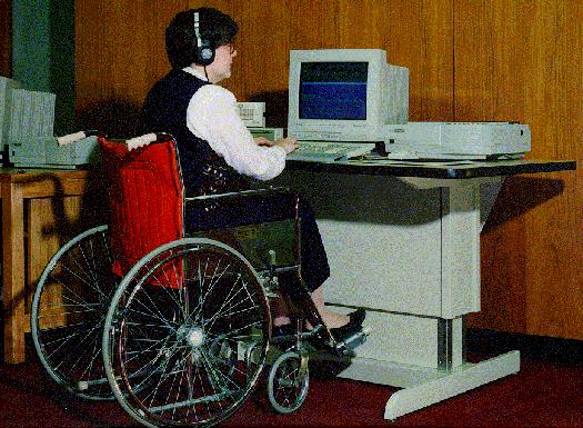 Workstation with adaptive technology