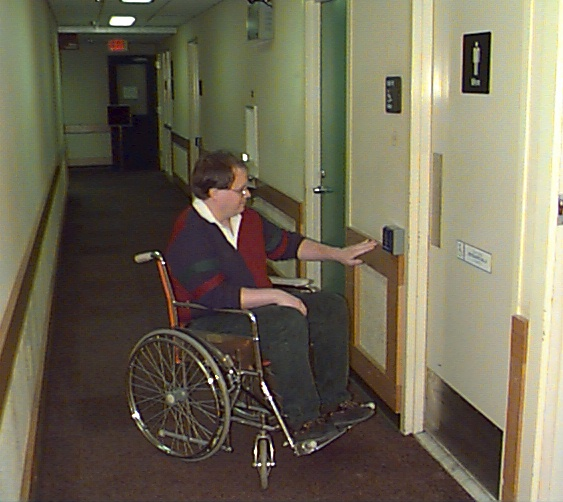 Accessible restroom