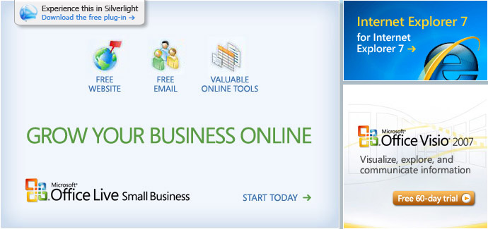 Office Live Small Business: Get a free Web site