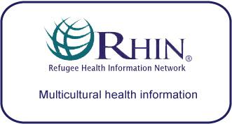 Refugee Health Information Network -- multicultural health information