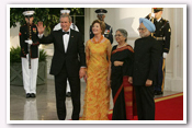 Link to Official Dinner for the Republic of India 2005 Photo Essays