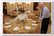Link to Dinner Preparations for the Prince of Wales and Duchess of Cornwall 2005 Photo Essays