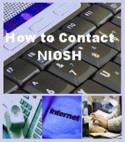 How to Contact NIOSH