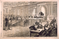 Opening of the High Court of Impeachment, in the Senate Chamber, Washington, D.C.,  on Friday, the 13th March, 1868, for the Trial of Andrew Johnson, President of the United States.