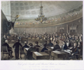 View of the Senate of the United States in Session.