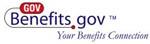 logo-link: url GovBenefit.gov and words: Your Benefits Connection