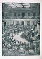 The United States Senate in Session.