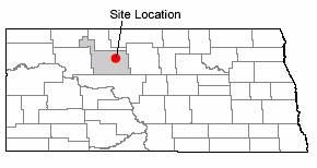 Map of Minot, North Dakota
