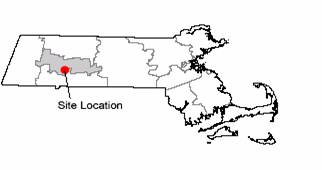 Map of Easthampton, MA