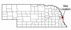 Map of Douglas County, Omaha, Nebraska