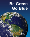 Be Green. Go Blue.