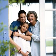 Photograph of three generations of women