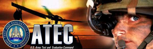 ATEC : U.S Army Test and Evaluation Command