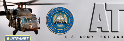 ATEC U.S. Army Test and  Evaluation Command