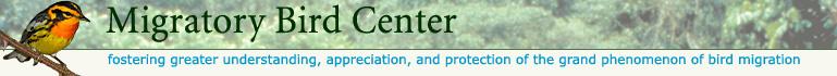 Smithsonian Migratory Bird Center main page
