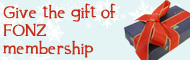 Give the gift of FONZ membership