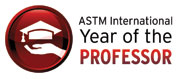 ASTM Year of the Professor