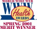 World Wide Web Health Award - Spring 2001
