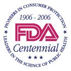 FDA Centennial logo