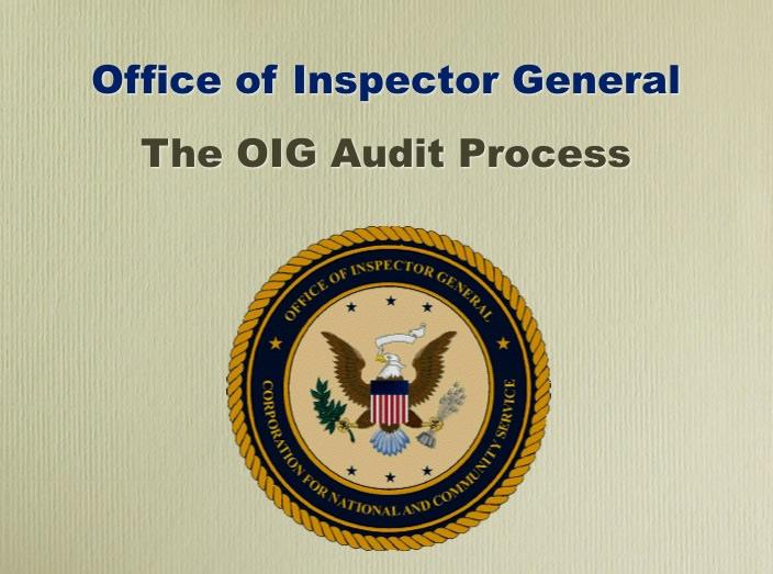 Audit Process Briefing