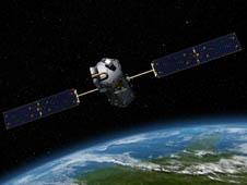 artist concept of Orbiting Carbon Observatory