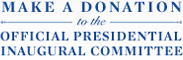 Make a donation to the Official Presidential Inaugural Committee