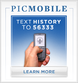PIC Mobile ::: Text HISTORY to 56333 ::: Learn More