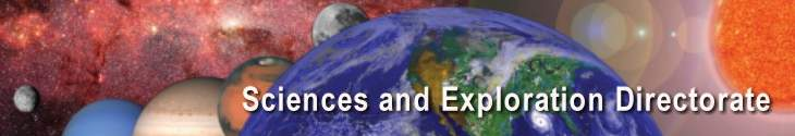 Sciences and Exploration Directorate banner