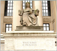 image of prologue statue