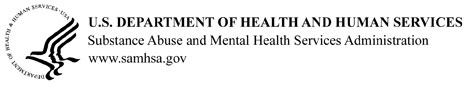HHS Logo for SAMHSA