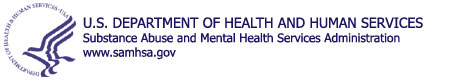 HHS Logo for SAMHSA blue