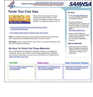 SAMHSA eNetwork Preview Image
