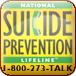 Suicide Prevention Lifeline 1-800-273-TALK