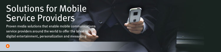 Solutions For Mobile Service Providers