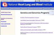 Programs for Genomic Applications